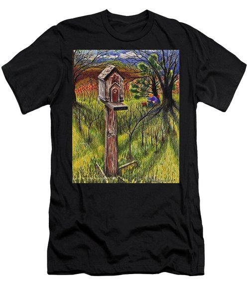 Bird House Men's T-Shirt (Athletic Fit)