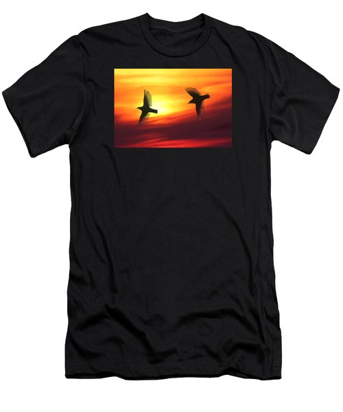 Bird Lovers Men's T-Shirt (Athletic Fit)