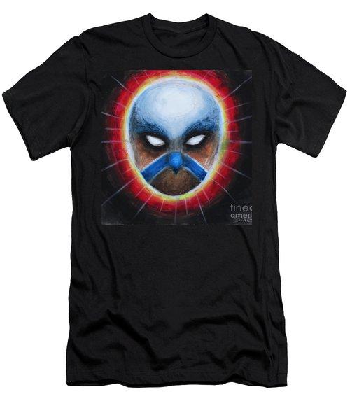 Bird Totem Mask Men's T-Shirt (Athletic Fit)