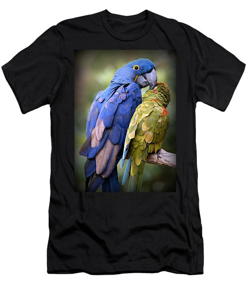 Birds Of A Feather Men's T-Shirt (Slim Fit) by Stephen Stookey