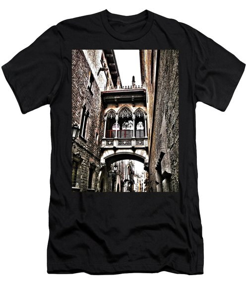 Bishop's Street - Barcelona Men's T-Shirt (Athletic Fit)