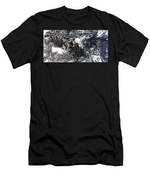 Black And White Series 3 Men's T-Shirt (Athletic Fit)