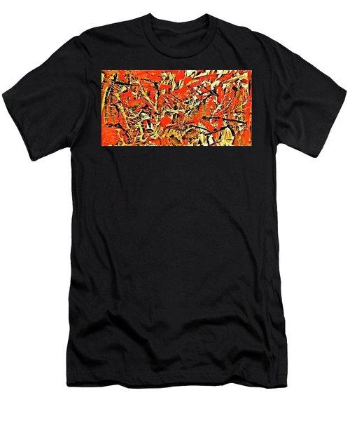 Black Cherry Men's T-Shirt (Athletic Fit)