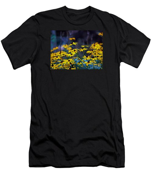 Black-eyed Susans Men's T-Shirt (Slim Fit) by Patricia Griffin Brett