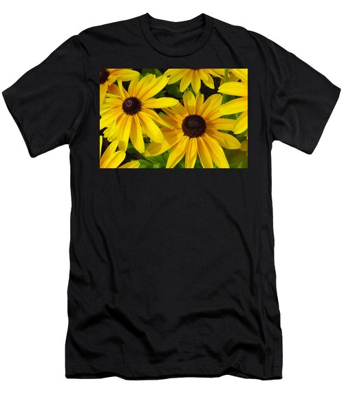 Black Eyed Susans Men's T-Shirt (Athletic Fit)