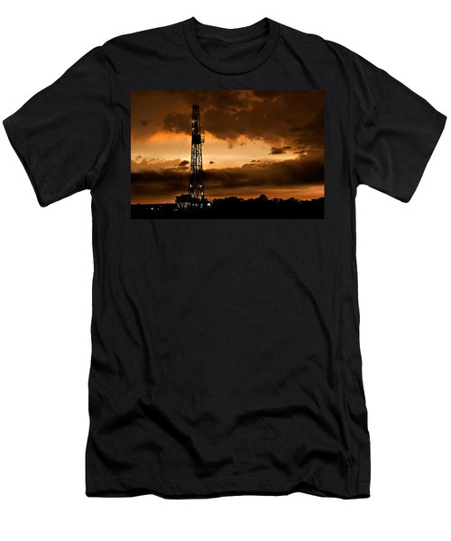 Black Gold Men's T-Shirt (Athletic Fit)