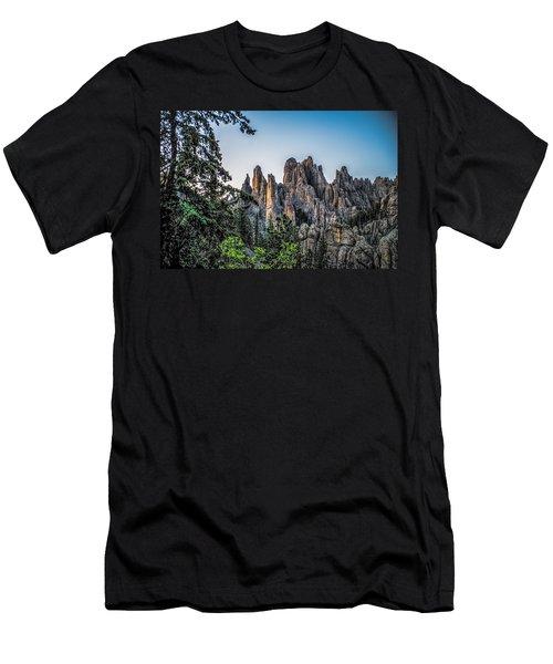 Black Hills Needles Men's T-Shirt (Athletic Fit)