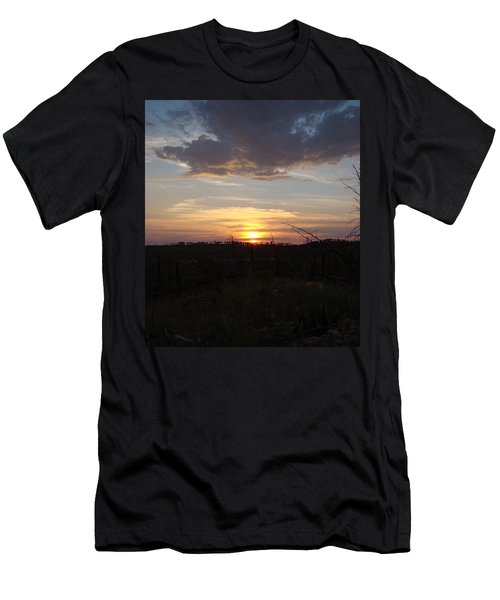 Men's T-Shirt (Slim Fit) featuring the photograph Black Hills Sunset IIi by Cathy Anderson