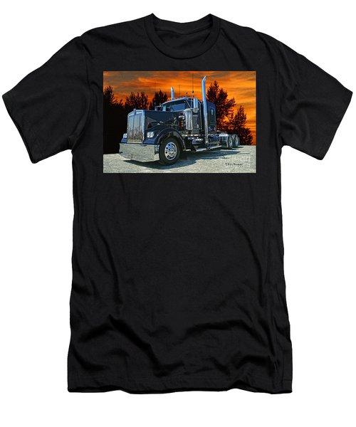 Black Kenworth Men's T-Shirt (Athletic Fit)