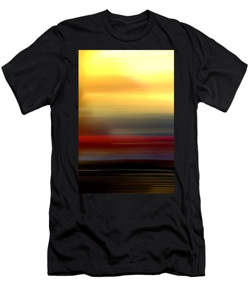 Black Red Yellow Men's T-Shirt (Athletic Fit)