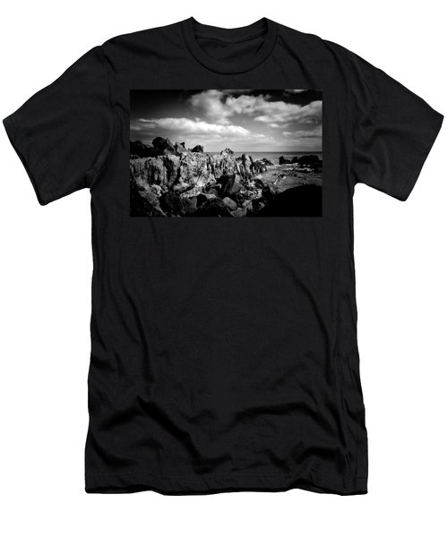 Black Rocks 3 Men's T-Shirt (Athletic Fit)