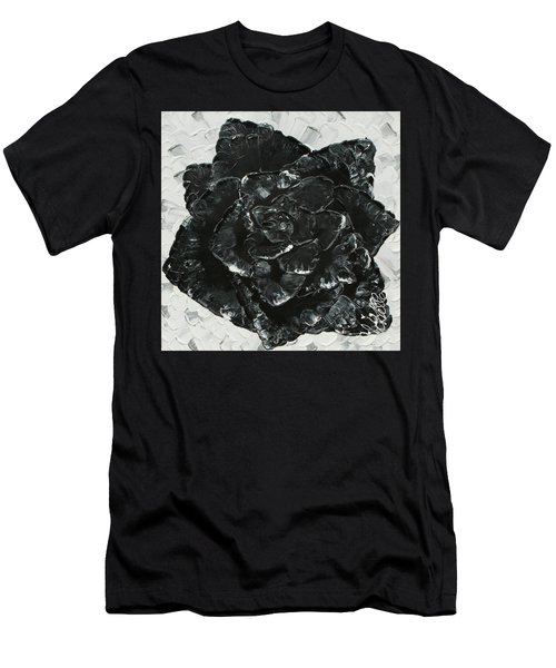 Black Rose I Men's T-Shirt (Athletic Fit)