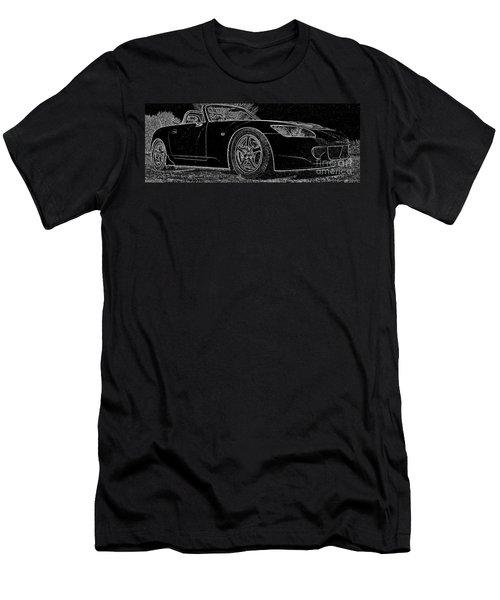 Black S2000 Men's T-Shirt (Athletic Fit)