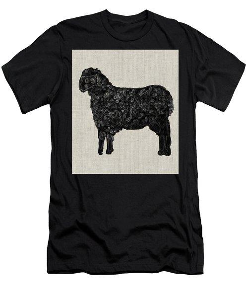 Black Sheep Men's T-Shirt (Athletic Fit)