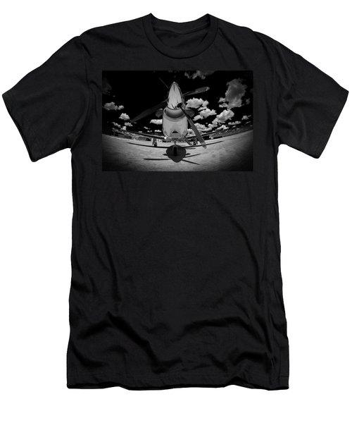 Black Sky Men's T-Shirt (Slim Fit) by Paul Job