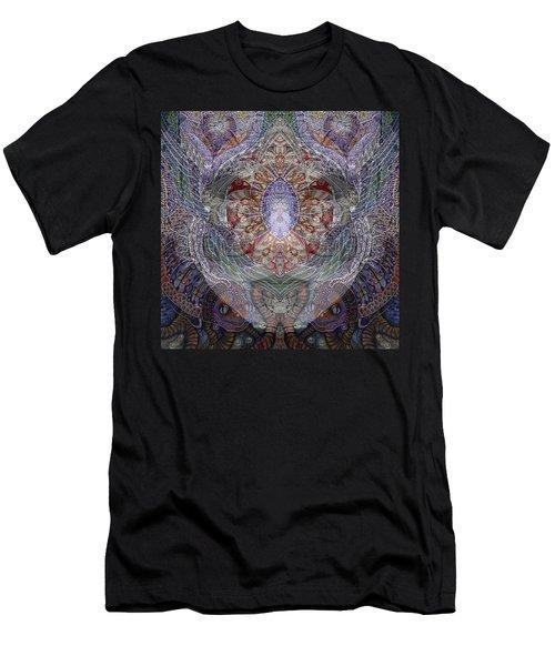 Black Venice Men's T-Shirt (Athletic Fit)