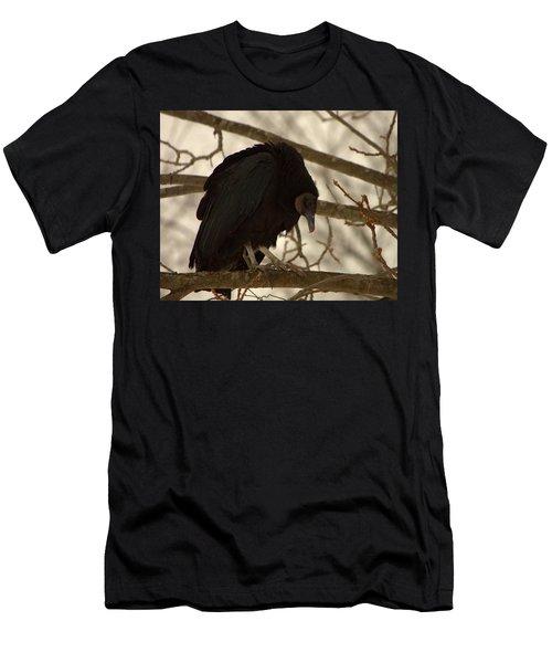 Black Vulture 4 Men's T-Shirt (Athletic Fit)