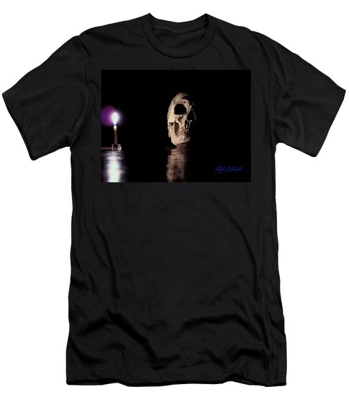 Men's T-Shirt (Slim Fit) featuring the photograph Blackbeard's Skull by Mark Blauhoefer