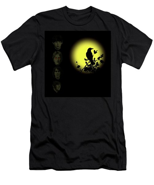 Blackbird Singing In The Dead Of Night Men's T-Shirt (Athletic Fit)