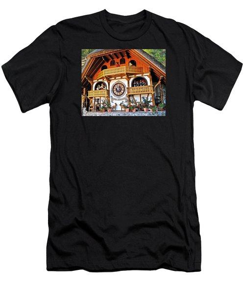 Blackforest Cuckoo Clock Men's T-Shirt (Athletic Fit)