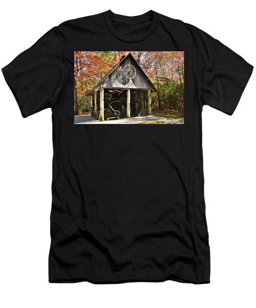 Blacksmith Shop Men's T-Shirt (Athletic Fit)