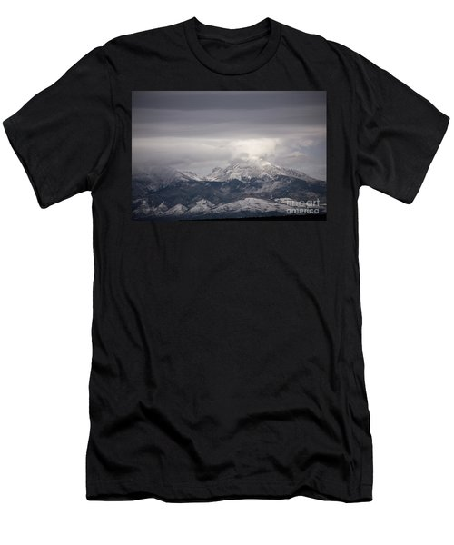 Blanca Peak Men's T-Shirt (Athletic Fit)