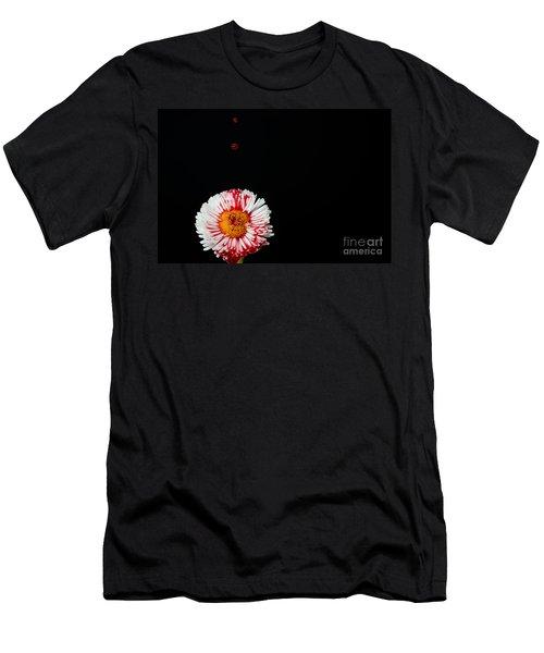 Bleeding Flower Men's T-Shirt (Athletic Fit)