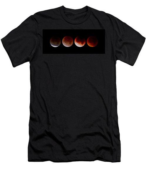Men's T-Shirt (Slim Fit) featuring the photograph Blood Moon by Joel Loftus