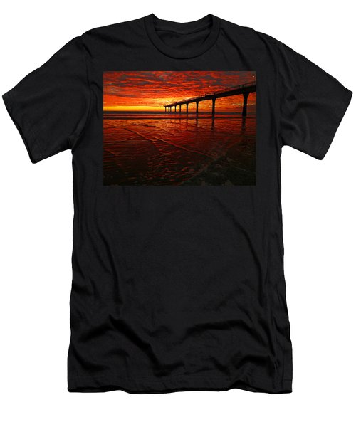 Blood Red Dawn Men's T-Shirt (Athletic Fit)
