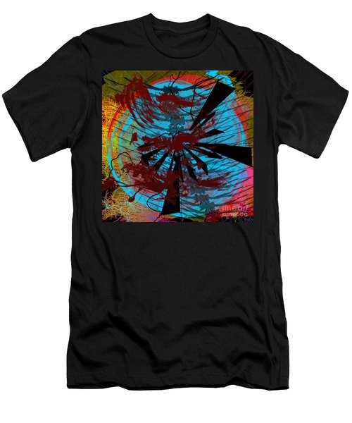 Men's T-Shirt (Athletic Fit) featuring the digital art Bloody Mess by Clayton Bruster
