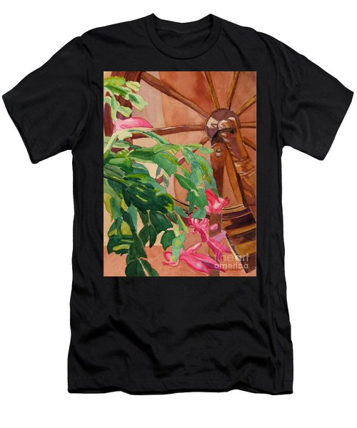 Bloomin' Cactus Men's T-Shirt (Athletic Fit)