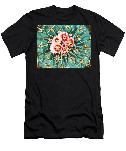 Bloomin' Horse Crippler Cactus Men's T-Shirt (Athletic Fit)