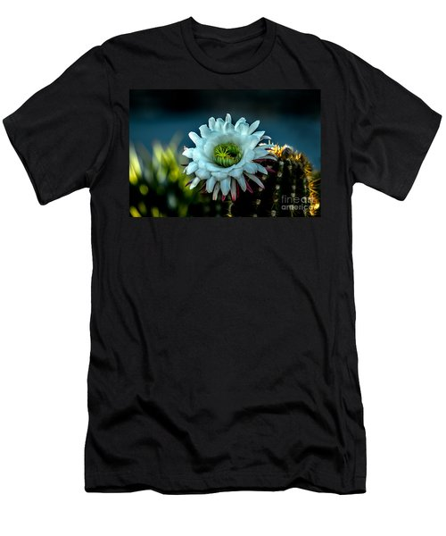 Blooming Argentine Giant Men's T-Shirt (Slim Fit) by Robert Bales