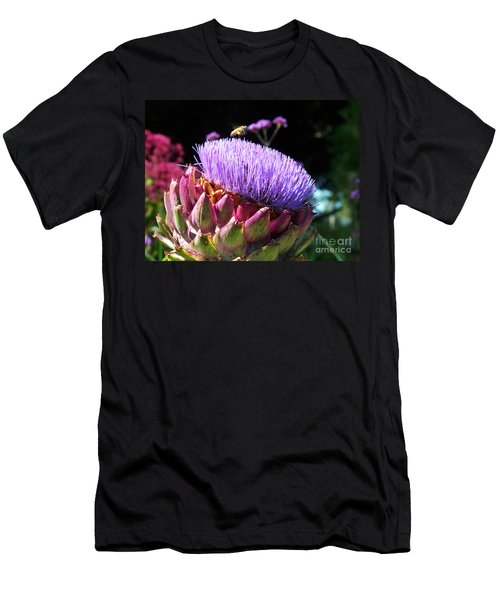 Blooming 'choke Men's T-Shirt (Athletic Fit)
