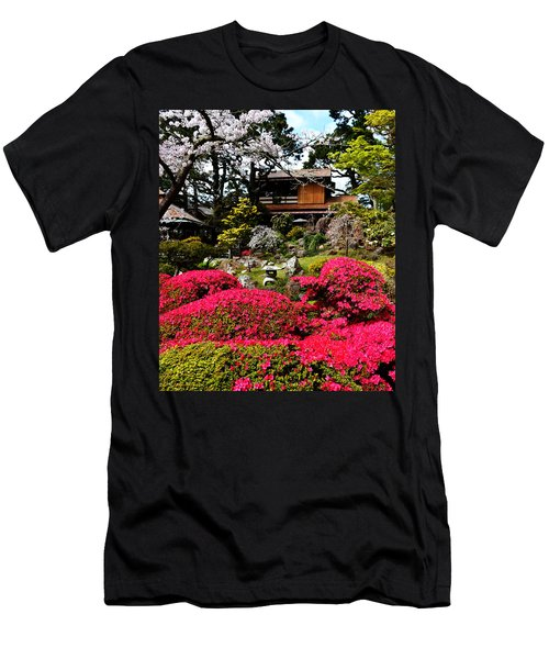 Blooming Gardens 2 Men's T-Shirt (Slim Fit)