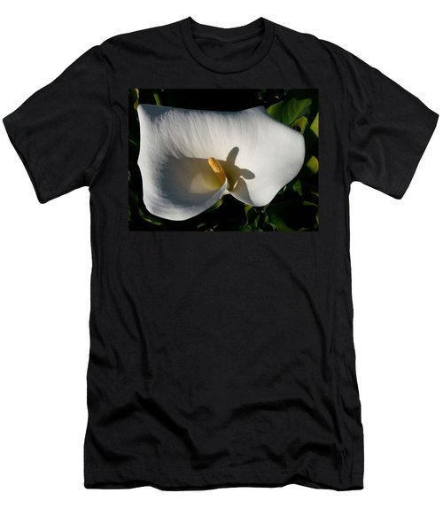 Blooming Lily Of San Francisco Men's T-Shirt (Athletic Fit)