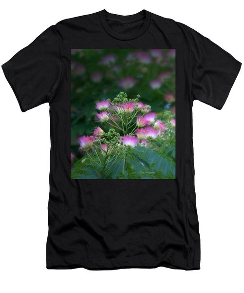 Blooms Of The Mimosa Tree Men's T-Shirt (Athletic Fit)