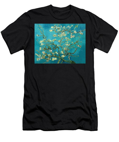 Blossoming Almond Tree Men's T-Shirt (Athletic Fit)