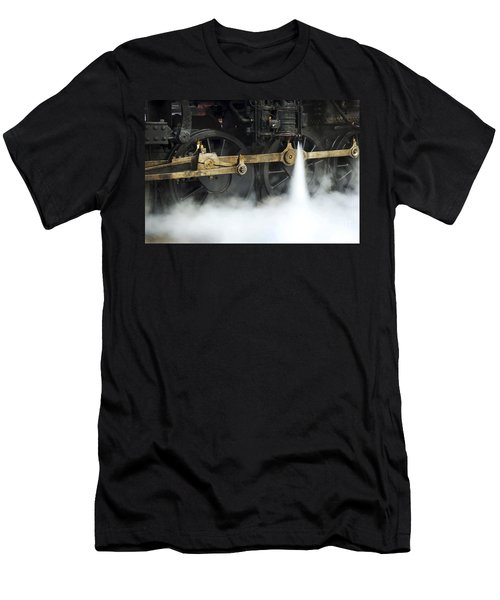 Blowing Of Steam Men's T-Shirt (Athletic Fit)
