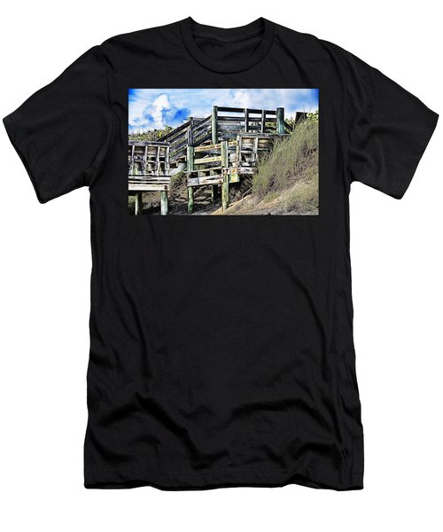 Blowing Rocks Men's T-Shirt (Athletic Fit)