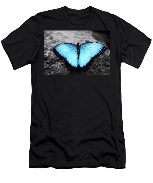 Blue Angel Butterfly 2 Men's T-Shirt (Athletic Fit)