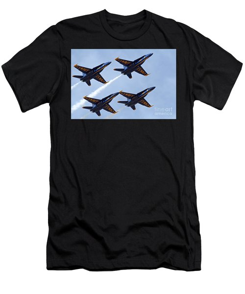 Blue Angels Over Colorado Men's T-Shirt (Athletic Fit)