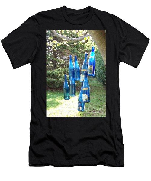 Blue Bottle Tree Men's T-Shirt (Athletic Fit)