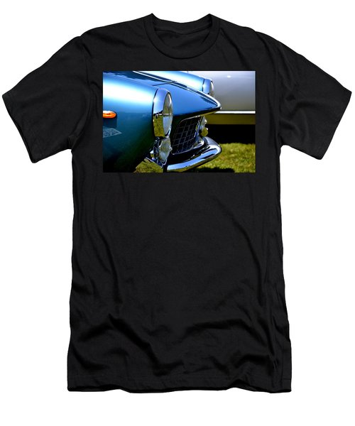 Men's T-Shirt (Slim Fit) featuring the photograph Blue Car by Dean Ferreira