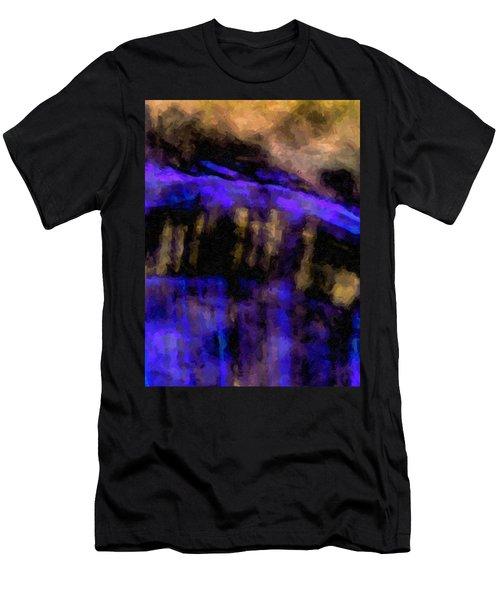 Blue Cliff Men's T-Shirt (Athletic Fit)