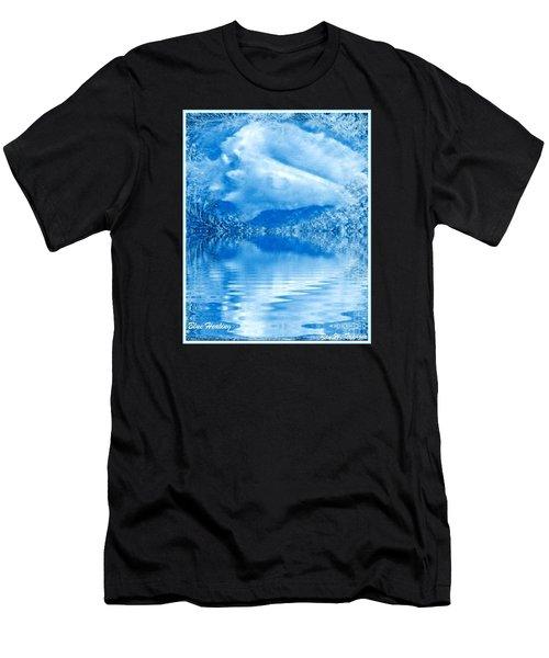 Blue Healing Men's T-Shirt (Athletic Fit)