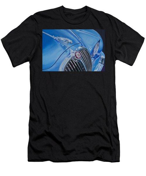 Vintage Blue Jag Men's T-Shirt (Athletic Fit)