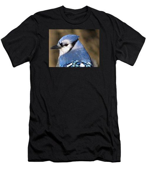 Blue Jay Profile Men's T-Shirt (Athletic Fit)