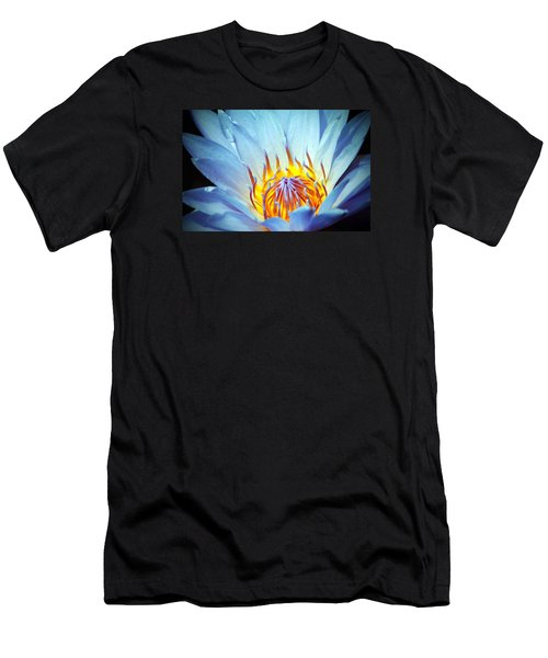 Blue Lotus Men's T-Shirt (Athletic Fit)