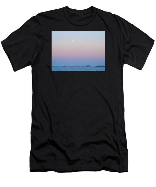 Blue Moon Eve Men's T-Shirt (Athletic Fit)